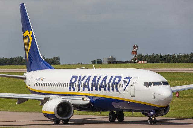 Ryanair vanaf Lelystad
